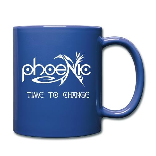PhoeNic - Logo - Tasse einfarbig