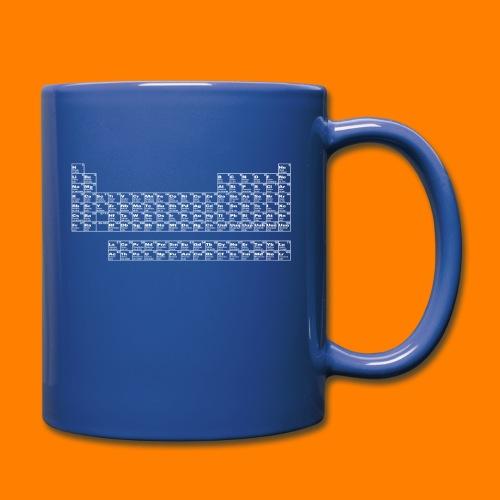 periodic white - Full Colour Mug