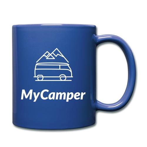 MyCamper Logo Weiss - Tasse einfarbig