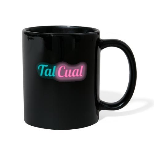 TalCual Logo Neón - Taza de un color
