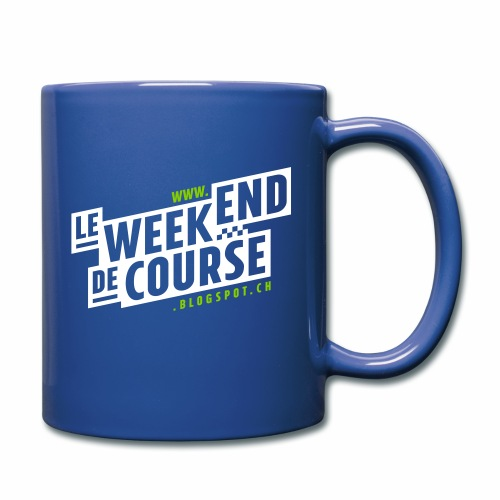 le week-end de course - Logo - Vert - Mug uni
