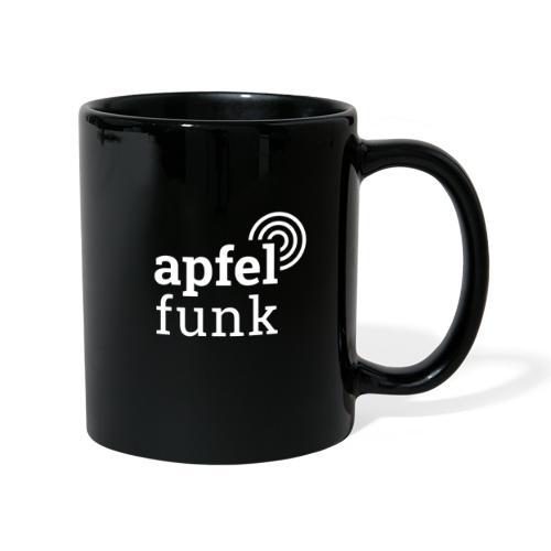 Apfelfunk Dark Edition - Tasse einfarbig