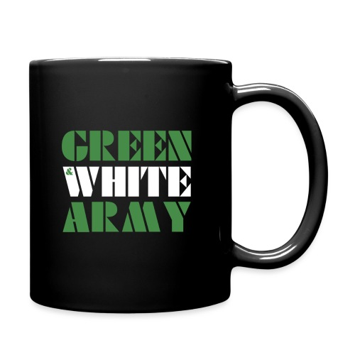 GREEN & WHITE ARMY - Full Colour Mug