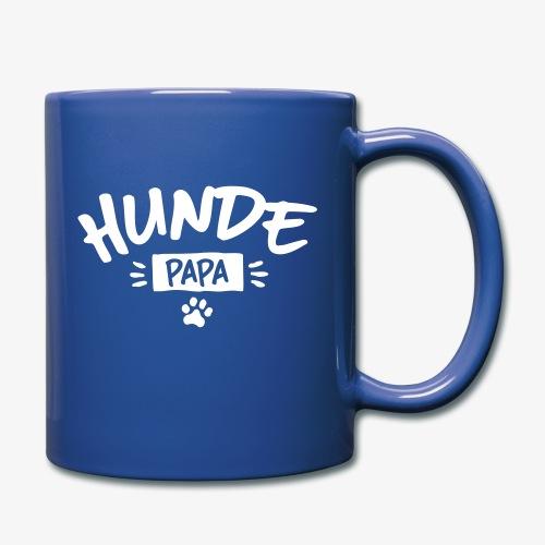 Hunde Papa - Tasse einfarbig