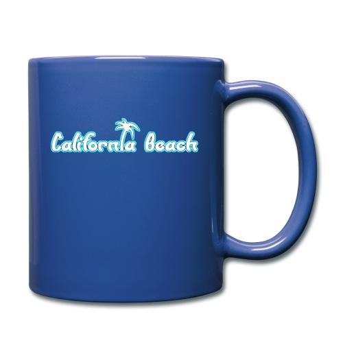 California Beach - Enfärgad mugg
