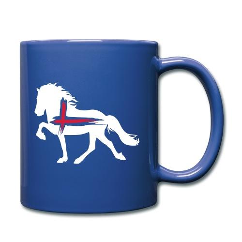 Isländer - Tasse einfarbig