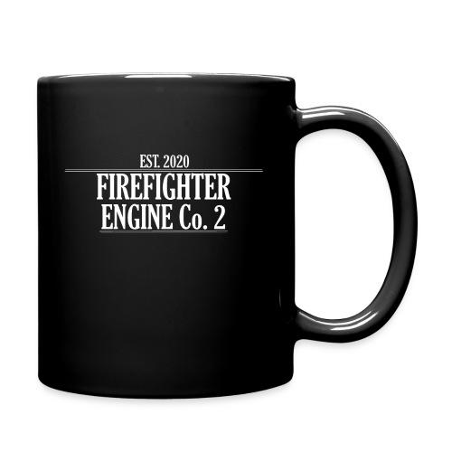 Firefighter ENGINE Co 2 - Ensfarvet krus