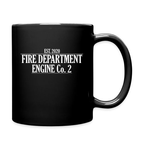 ENGINE Co 2 - Ensfarvet krus