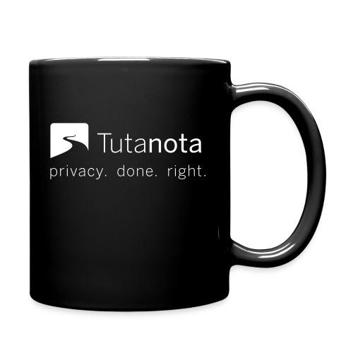 Tutanota - Privacy. Done. Right. - Tasse einfarbig