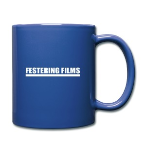 Festering Films Logo (White) - Full Colour Mug