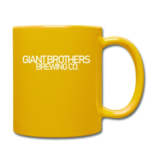 Giant Brothers Brewing co white - Enfärgad mugg
