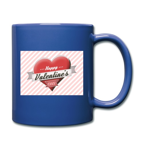 happy valentines day - Full Colour Mug