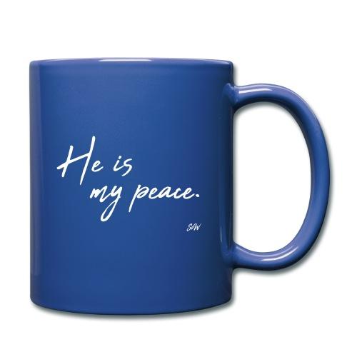 He is my peace. - Mug uni