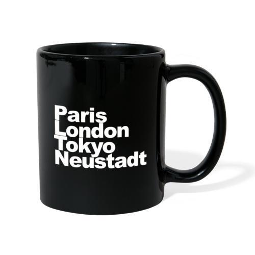 Weltstadt Neustadt - Tasse einfarbig