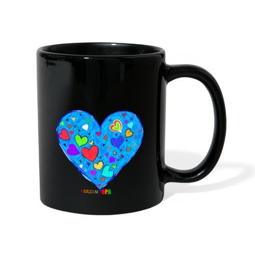 HerzensOpa - Tasse einfarbig