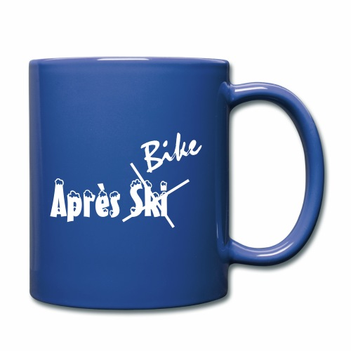 Apres_Bike - Tasse einfarbig