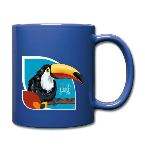 Tukan - großer Schnabel - Tasse einfarbig