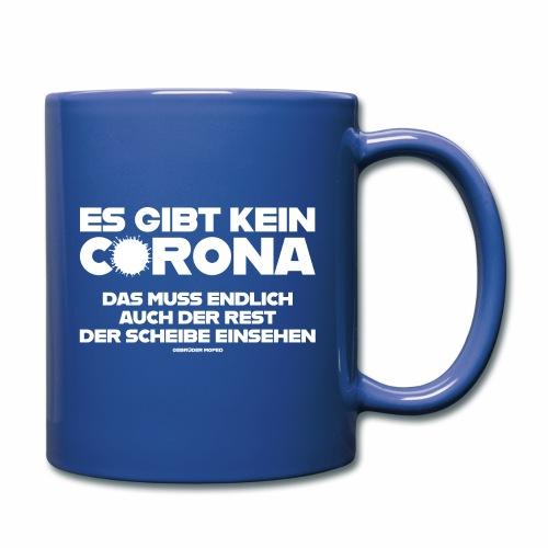 Kein Corona - Tasse einfarbig