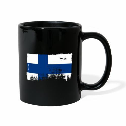 Suomen lippu, Finnish flag T-shirts 151 Products - Yksivärinen muki