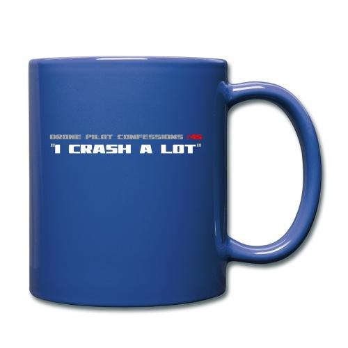 I CRASH A LOT - Full Colour Mug
