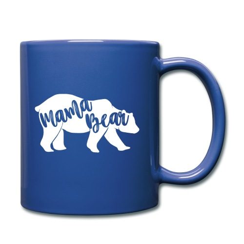 Mama Bear - für Eltern-Baby-Partnerlook - Tasse einfarbig