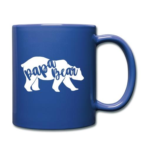 Papa Bear - für Eltern-Baby-Partnerlook - Tasse einfarbig
