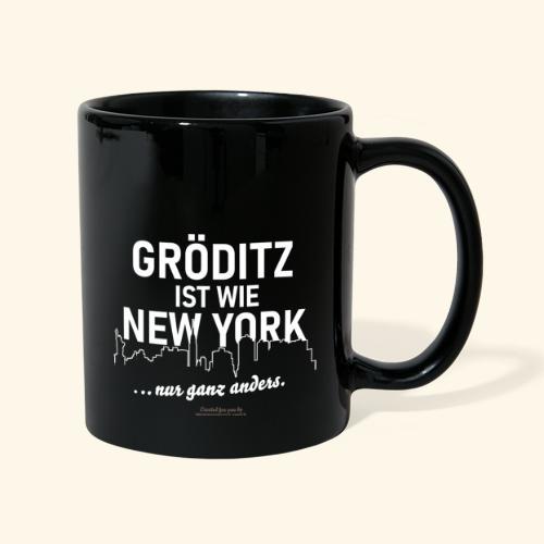 Gröditz - Tasse einfarbig