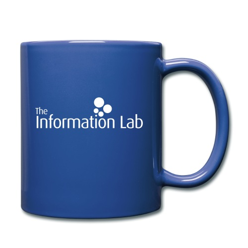 Info Lab Logo White - Full Colour Mug