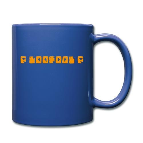 P loofool P - Orange logo - Ensfarget kopp