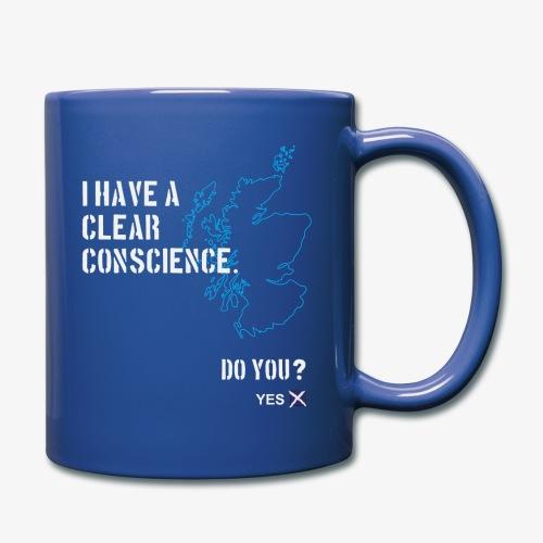 Clear Conscience - Full Colour Mug