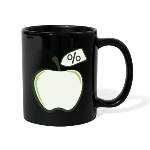Sund på budget logo til mørke produkter - Ensfarvet krus