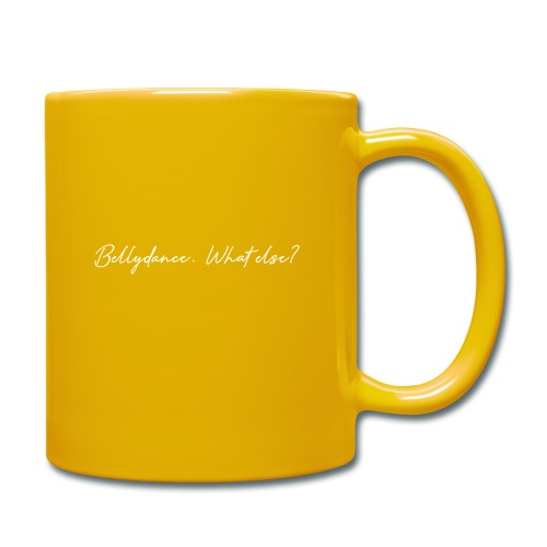 Bellydance What Else? White - Mug uni