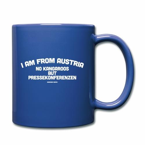 Pressekonferenzen - Tasse einfarbig