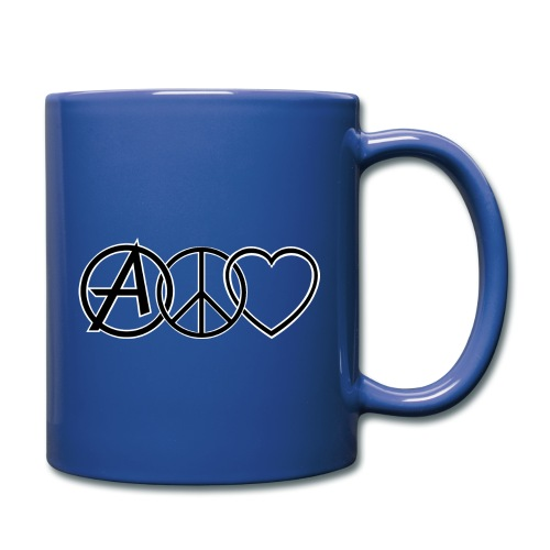 ANARCHY PEACE & LOVE - Full Colour Mug