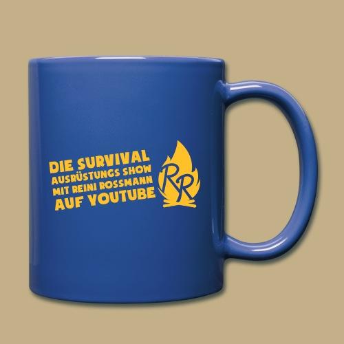 Reini Rossmann Survival Show - Tasse einfarbig