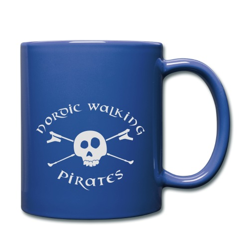Nordic Walking Pirates (white) - Tasse einfarbig