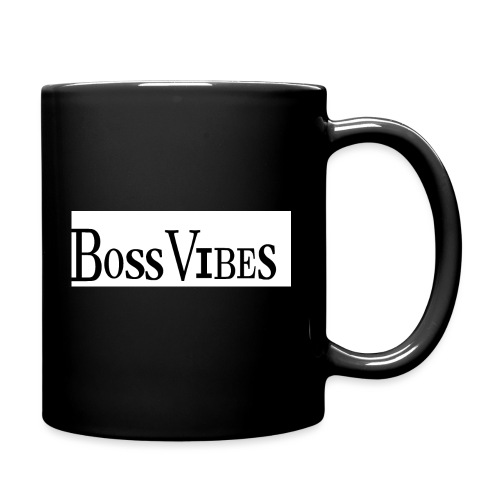 BossVibes version 2 - Ensfarvet krus