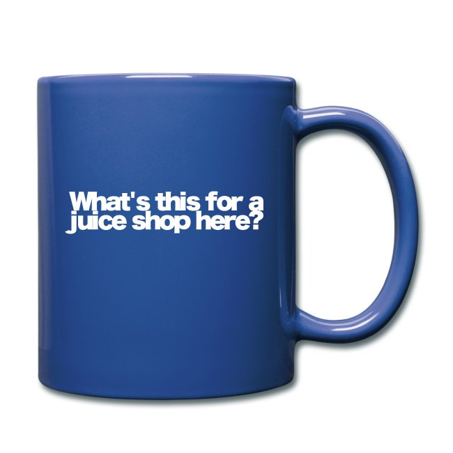 whats this for a juice shop here white 2020