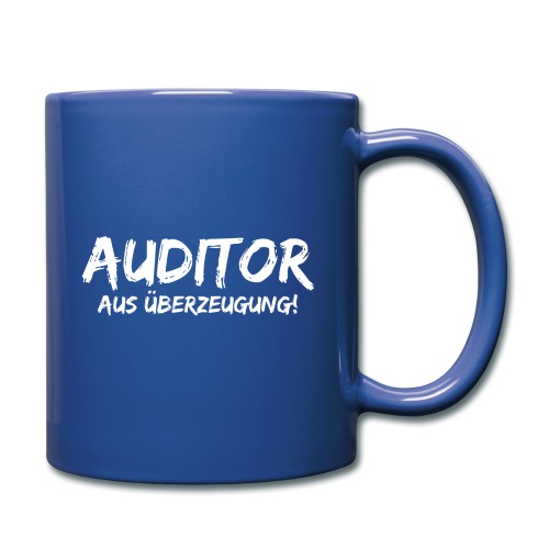 auditor aus überzeugung white - Tasse einfarbig