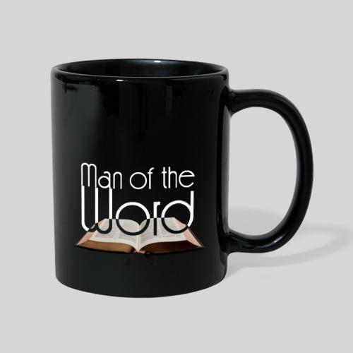 man of the Word - Mann des Wortes - der Bibel weiß - Tasse einfarbig