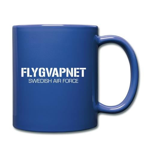 FLYGVAPNET - SWEDISH AIR FORCE - Enfärgad mugg