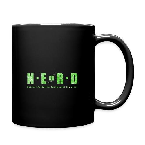 NERD Green - Ensfarvet krus