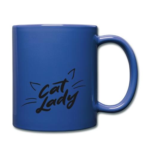 Cat Lady - Tasse einfarbig