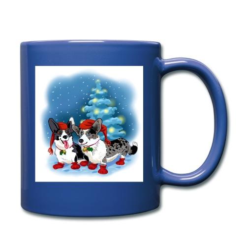CORGI CHRISTMAS - Ensfarget kopp