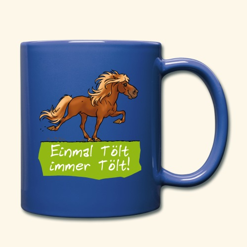 Island Pferd Tölt - Mug uni