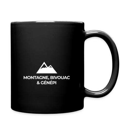 Montagne, bivouac et Génépi - Mug uni
