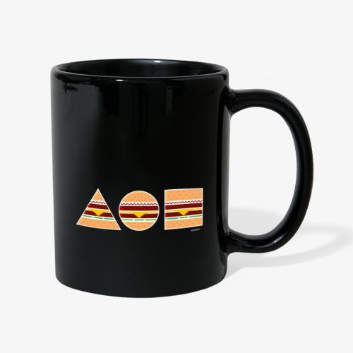 Graphic Burgers - Tazza monocolore