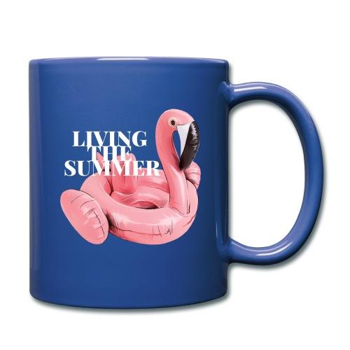 Living the Summer - Taza de un color