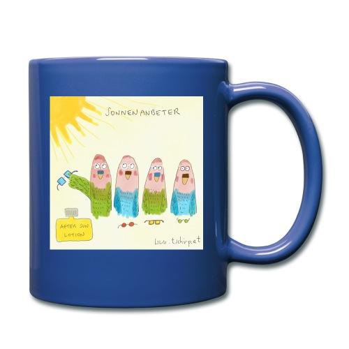 Sonnenanbeter - Tasse einfarbig