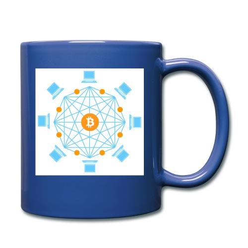 Blockchain - Yksivärinen muki